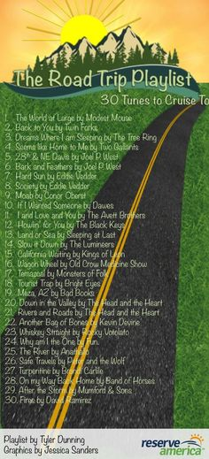Theme songs from the year? Road Trip Music: Tips And a Playlist from a Chronic Traveler Road Trip Playlist, Song Playlist, Music Quotes, Music Lyrics, Juan Sebastian Bach, Road Trip Music, Road Trip Theme, Road Trip Songs, Road Trip Quotes