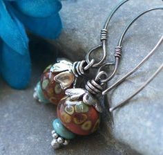 Love these earrings and all the creative work posted at The Cerebral Dilettante.