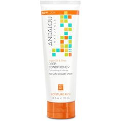 Andalou Naturals, Deep Conditioner, Moisture Rich, Argan Oil & Shea, 5.8 fl oz (172 ml)
