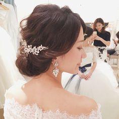 wedding hairarrange bridalhair