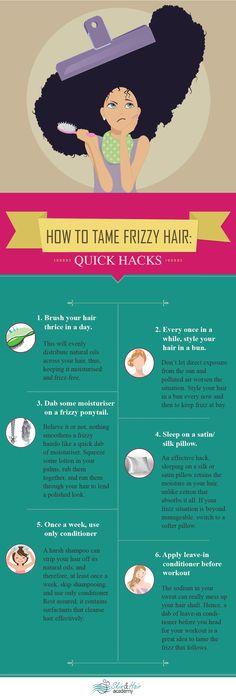 How to get rid of frizzy hair #frizzyhair #haircaretips #dryhair
