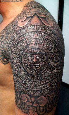 2018 Tribal Mayan Tattoos for Men