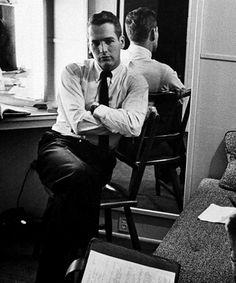 Paul Newman, por Leonard McCombe, 1958