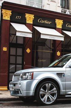 Range Rover, Cartier oooooooh what an adventure!