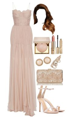 """Untitled #4417"" by natalyasidunova ❤ liked on Polyvore featuring Maria Lucia Hohan, Gianvito Rossi, ALDO, Miss Selfridge and Stila"
