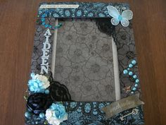 Pieces By Aideen: altered frame
