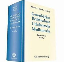 Gewerblicher Rechtsschutz, Urheberrecht, Medienrecht : Kommentar.    Carl Heymanns, 2014