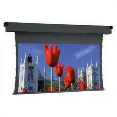 """HC Da-Mat Tensioned Dual Masking Electrol - Cinemascope Format Size: 45"""" x 106"""" diagonal by Da-Lite. $3844.38. 97388 Size: 45"""" x 106"""" diagonal Excellent for video projection applications. Same great features as the Dual Masking Electrol screen except screen is tensioned for an extra flat surface for optimum image quality when using video or data projection. Tab guide cable system maintains ev"""