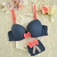 Japanese kawaii candy color lingerie from Fashion Kawaii [Japan & Korea] Lingerie Chic, Lingerie Fine, Jolie Lingerie, Lingerie Outfits, Pretty Lingerie, Beautiful Lingerie, Bra Lingerie, Women Lingerie, Cute Underwear