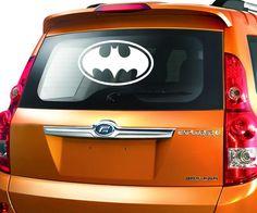 BAT Bats Batman Metal License Plate Frame Perfect for Men Women Car garadge Decor License Plate Covers for Womens US Standard(Chrome//Black)