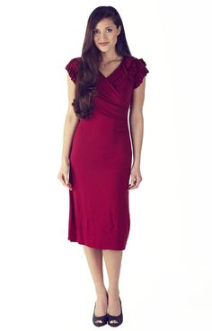 Modest $49.99 http://www.jenclothing.com/mi-1205-rebecca-red.html