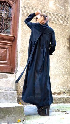 Items similar to NEW Hot Black Maxi Loose Shirt / Asymmetric shirt / Oversize New Viscose Maxi Shirt side pockets by AAKASHA on Etsy Maxi Shirts, Loose Shirts, Black Maxi, Fashion Updates, Batwing Sleeve, Long Sleeve, Blouse Dress, Navy Blue Dresses, One Piece Swimwear