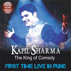 India`s number 1 Comedian, Kapil Sharma, the lead host and Producer of Comedy Nights with Kapil, comes to Pune for the first time to Entertain you to a night of Humour! Kapil Sharma will perform a Live Comedy act and have you in splits through the show! There will also be warm up entertainment that will have you revved up and ready to face the man of the moment.. Kapil Sharma ! ! !   !