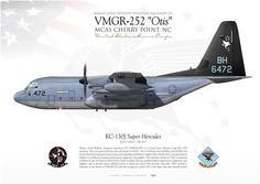 "UNITED STATES MARINE CORPS MARINE AERIAL REFUELER TRANSPORT SQUADRON 252 (VMGR-252) ""Otis"" / MAG-14MCAS Cherry Point, NC"