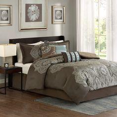 Madison Park Capella 7 Piece Comforter Set | Wayfair