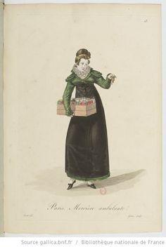 Costumes d'ouvrières parisiennes / par Gatine - 17