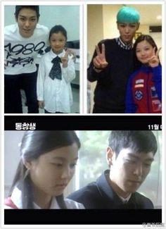 Tabi and actress Kim Yoo Jung ( his sister in Alumni )
