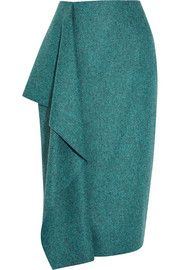 Roksanda Ilincic Merle wool-felt skirt