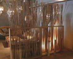 Con rami e bambù