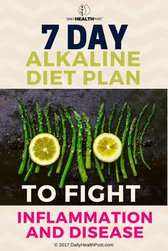 This simple 7-day alkaline diet plan includes simple instructions and recipes to fight the negative effects of the modern diet.