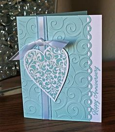 Ideas for Scrapbookers: Adding Texture to your projects with Dry Embossing