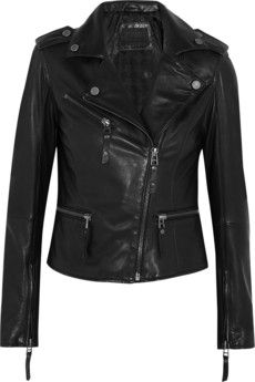 Karl Lagerfeld Odina leather biker jacket | NET-A-PORTER