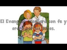 La familia es de Dios SUD con letra| Canción para los niños de la primaria - YouTube