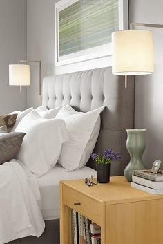 Brighten up your bedroom with modern lighting solutions.