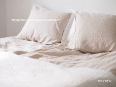 Bedroom, linen.