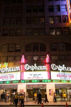 Travelogue: Los Angeles Orpheum Theatre