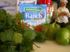 OUR RECIPE GARDEN: Bajio's Cilantro Lime Dressing