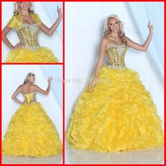 Find More Quinceanera Dresses Information about Hot Sale Yellow Quinceanera Dresses With Bolero 2015 Sweetheart Long Ball Gown Ruffles Crystal For 15 Years vestido de festa,High Quality dress patterns evening gowns,China dress dora Suppliers, Cheap dress shoes for girls from True Love Bridal dress Co., Ltd.  on Aliexpress.com