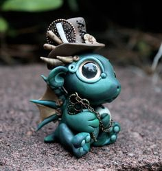 Very Fine Hat - Baby Dragon by BittyBiteyOnes on DeviantArt