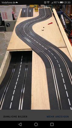 Slot Car Race Track, Ho Slot Cars, Slot Car Racing, Slot Car Tracks, Scalextric Digital, Rc Trucks, Gaudi, Scale Models, Trains