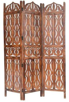 Find Home & More Pinnacle 3 Panel Wood Screen online. Shop the latest collection of Home & More Pinnacle 3 Panel Wood Screen from the popular stores - all in one Bamboo Room Divider, Room Divider Screen, Metal Chairs, Side Chairs, Oriental Furniture, Pool Furniture, Winsome Wood, Upholstered Platform Bed, Gold Wood