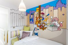 Top Cat wall art, great for lovers of all things retro.