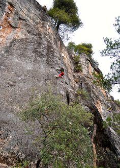 Rock climbing at siu