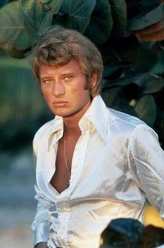 French singer and actor Johnny Hallyday Johnny Haliday, Tony Frank, Image Club, Ritchie Valens, Famous Musicals, Don Mclean, Buddy Holly, Classic Songs, Old Singers