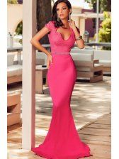 Close-Fitted Mermaid Lace Embellished Evening Dresses/ Looks more expensive than it really is! Sexy Dresses, Cute Dresses, Fashion Dresses, Prom Dresses, Formal Dresses, Dress Prom, Mermaid Evening Dresses, Evening Gowns, Evening Party