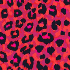 Coloured Leopard - Colourful - Animal Skin - Texture - Abstract - Pink - Tonal by Sonja Sporrer-Hornfeck Seamless Repeat Vector Royalty-Free Stock Pattern Animal Print Background, Animal Print Wallpaper, Pink Wallpaper Iphone, Iphone Background Wallpaper, Hello Kitty Backgrounds, Cute Backgrounds, Pink Animals, Colorful Animals, Cool Wallpapers Patterns