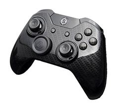 SCUF Infinity1 Carbon Fiber Black Gloss Controller for Xbox One and PC -- Want additional info? Click on the image.