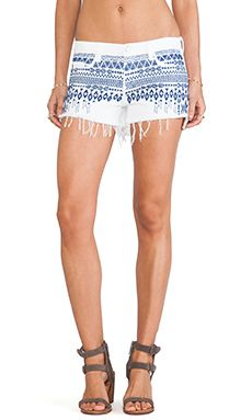 BLANKNYC Embroidered Shorts in Baby Back | REVOLVE