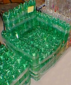 1000 images about diy plastic bottles furniture on pinterest plastic bottles empty plastic Furniture made from recycled plastic