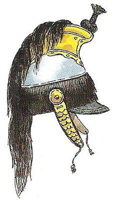 Casco de coracero de 1811