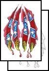 confederate Tattoo Design (PCF-00045)