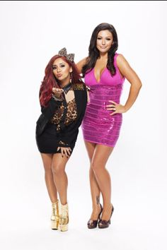 0fbd4758f449 Snooki and JWOWW. Elizabeth Moroldo · Jersey shore dress up