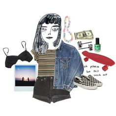 hold Me by love4yu on Polyvore featuring Levi's, 3.1 Phillip Lim, Vans and Hollywood Mirror
