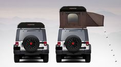 Hardtop One: Expandable Hard Shell Roof-Top Tent