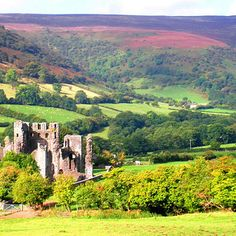 Llanthony Priory, Monmouthshire, Wales.   28 Incredibly Beautiful Places In The U.K. To Visit