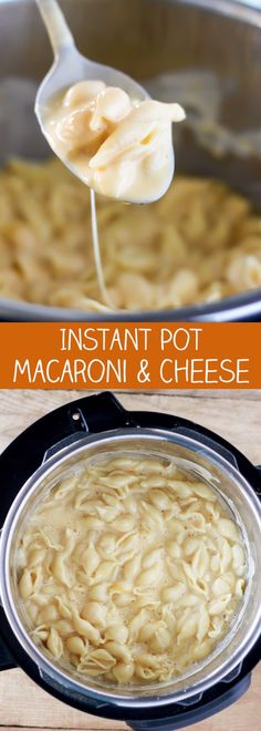 Instant Pot Pressure Cooker Macaroni and Cheese